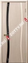 Межкомнатные двери Ульяновские двери Диамант 1 Беленый Дуб