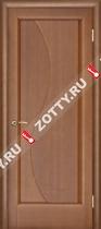 Межкомнатные двери Ульяновские двери ФЛОРА (Глухая Темный Анегри)