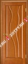 Межкомнатные двери Ульяновские двери ТОРНАДО (Глухая Светлый Анегри)
