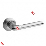 Ручки раздельные Apecs Premier H-0583-A-CRM/CR (Сатин/хром)