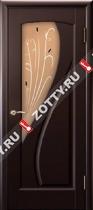 Межкомнатные двери Ульяновские двери МАРИЯ (Стекло Венге)