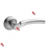 Ручки раздельные Apecs Premier H-0521-Z-CRM/CR (Сатин/хром)