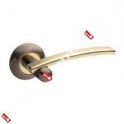 Ручки раздельные Apecs Premier H-0522-Z-AB/G (Античная бронза/золото)