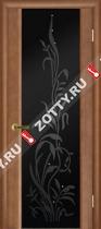 Межкомнатные двери Ульяновские двери ЭКСКЛЮЗИВ 2 Темный Анегри