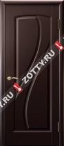 Межкомнатные двери Ульяновские двери МАРИЯ (Глухая Венге)
