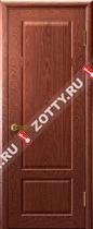 Межкомнатные двери Ульяновские двери Валенсия (Глухая Красное Дерево)