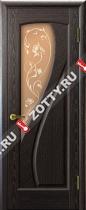 Межкомнатные двери Ульяновские двери МАРИЯ (Стекло Черный Абрикос)