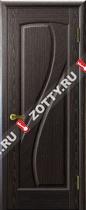 Межкомнатные двери Ульяновские двери МАРИЯ (Глухая Черный Абрикос)