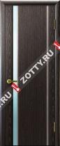 Межкомнатные двери Ульяновские двери ТЕХНО 1 Черный Абрикос