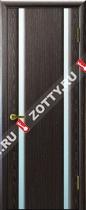 Межкомнатные двери Ульяновские двери ТЕХНО 2 Черный Абрикос