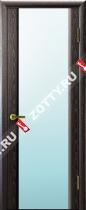 Межкомнатные двери Ульяновские двери ТЕХНО 3 Черный Абрикос