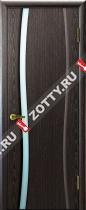 Межкомнатные двери Ульяновские двери ДИАДЕМА 1 Черный Абрикос