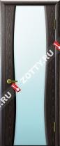 Межкомнатные двери Ульяновские двери ДИАДЕМА 2 Черный Абрикос