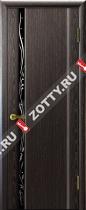 Межкомнатные двери Ульяновские двери ЭКСКЛЮЗИВ 1 Черный Абрикос