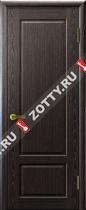 Межкомнатные двери Ульяновские двери Валенсия (Глухая Черный Абрикос)
