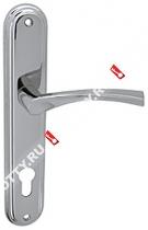 Ручка дверная на планке Fuaro 0112 CK-85/CP