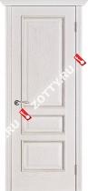 Межкомнатные двери Белорусские двери ВЕНА Белая патина