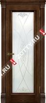 Межкомнатные двери Ульяновские двери ТОСКАНА (Стекло Бренди)