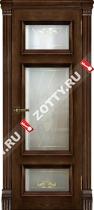 Межкомнатные двери Ульяновские двери МАДРИД (Стекло Бренди)