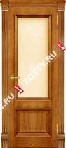 Межкомнатные двери Ульяновские двери Корсика (Стекло Антико)
