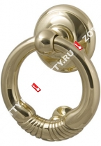 Дверное кольцо M.B.C. Margherita knocker 125 mm (Латунь)
