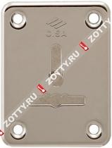 Декоративная накладка CISA на сувальдный замок со шторкой (1 шт) 06.081.01.12 (Никель)