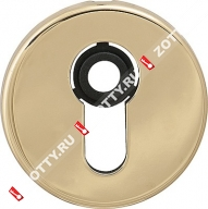 Декоративная накладка на цилиндр CISA 06.458.10 (Латунь)