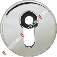 Декоративная накладка на цилиндр CISA 06.458.10.18 (Хром)
