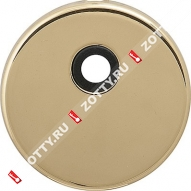 Декоративная накладка на цилиндр под вертушку CISA 06.458.20 (Латунь)