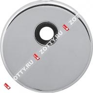 Декоративная накладка на цилиндр под вертушку CISA 06.458.20.18 (Хром)