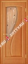 Межкомнатные двери Ульяновские двери МАРИЯ (Стекло Светлый Анегри)