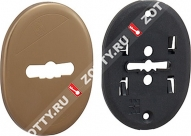 Накладка на сувальду (1 шт) овальная форма MOTTURA 95.323 (Бронза)