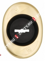 Накладка на сувальду (1 шт) MOTTURA (аналог 95.244)/проф10 наружная, вогнутая золото (65х90) 95.344 (Золото)