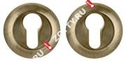 Накладка под цилиндр PUNTO ET TL ABG-6 (Зеленая бронза)