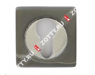 Накладка VANTAGE ET02BN/CP (Черный никель/хром)