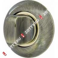 Ручка поворотная ARMADILLO WC-BOLT BK6-1AB/GP-7 (Бронза/золото)