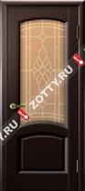 Межкомнатные двери Ульяновские двери ЛАУРА (Стекло Венге)