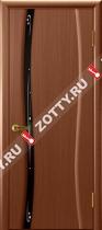 Межкомнатные двери Ульяновские двери Диамант 1 Темный Анегри