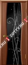 Межкомнатные двери Ульяновские двери Диамант 2 Темный Анегри