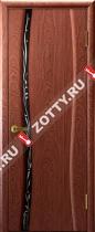 Межкомнатные двери Ульяновские двери Диамант 1 Красное Дерево