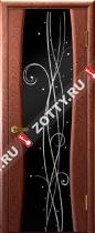 Межкомнатные двери Ульяновские двери Диамант 2 Красное Дерево