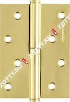 Петля съемная ARMADILLO 613-4 100х75х2.5 GP лев. Box (Золото)