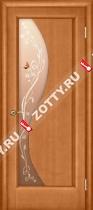Межкомнатные двери Ульяновские двери ФЛОРА (Стекло Светлый Анегри)