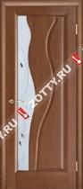 Межкомнатные двери Ульяновские двери ТОРНАДО (Стекло Темный Анегри)