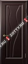 Межкомнатные двери Ульяновские двери ТОРНАДО (Глухая Венге)