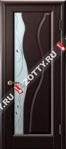 Межкомнатные двери Ульяновские двери ТОРНАДО (Стекло Венге)