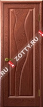 Межкомнатные двери Ульяновские двери ТОРНАДО (Глухая Красное Дерево)