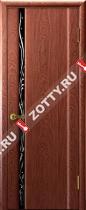 Межкомнатные двери Ульяновские двери ЭКСКЛЮЗИВ 1 Красное Дерево