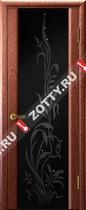 Межкомнатные двери Ульяновские двери ЭКСКЛЮЗИВ 2 Красное Дерево