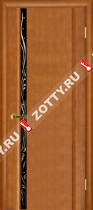 Межкомнатные двери Ульяновские двери ЭКСКЛЮЗИВ 1 Светлый Анегри